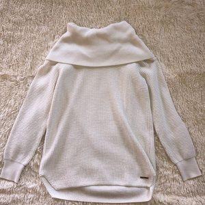 Michael Kors cream cowl neck sweater